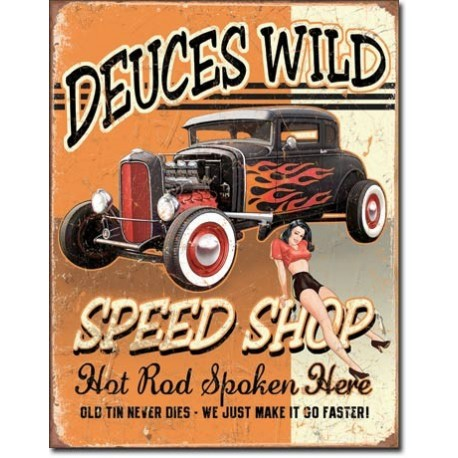 Deuces Wild Speed Shop