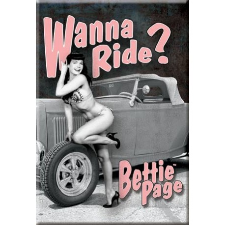 Bettie Page - Wanna Ride