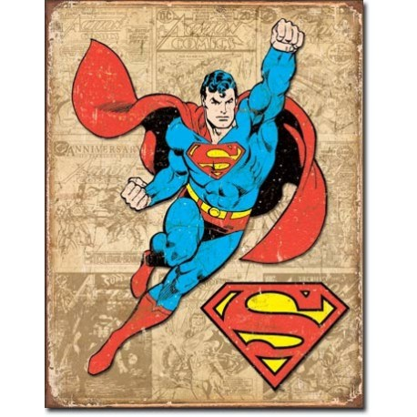 Superman Weathered Panels