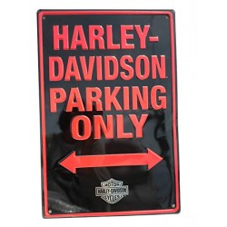 Harley Davidson Parking only