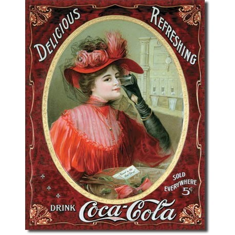 COKE Victorian Red Dress