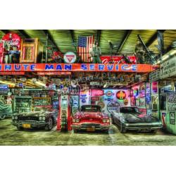 Car Service Bild - Stahlblech