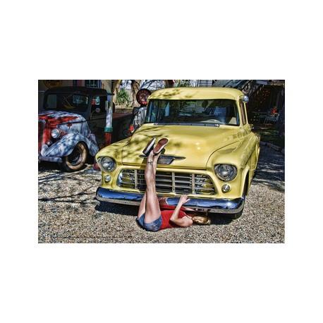 Classic Truck w/ Pinup