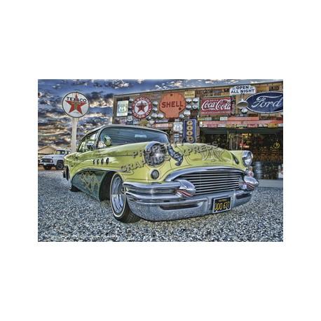 Pinup Classic Car