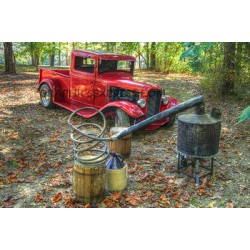 TRUCK/MOONSHINE DISTILLERY