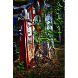 Rusty Gas Pump