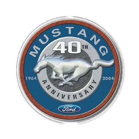 Mustang 40th Round