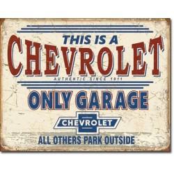 Chevy Only Garage