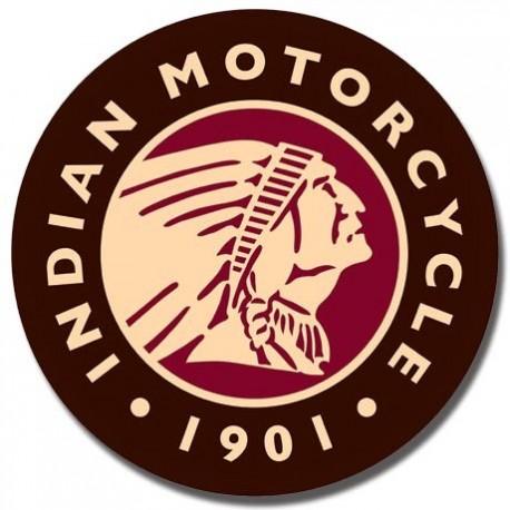 Indian Logo Round