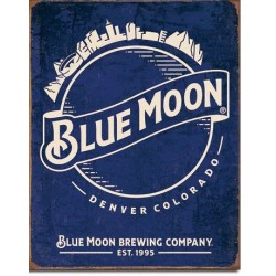 Blue Moon - Skyline Logo Retro