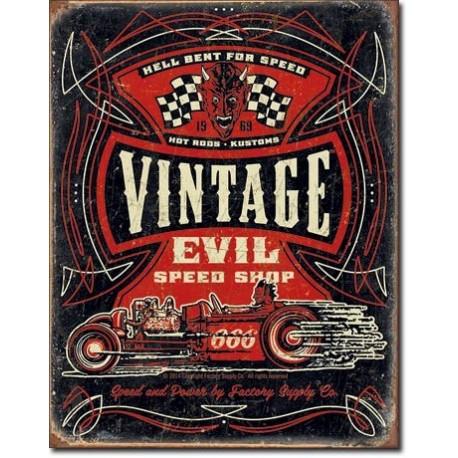 Vintage Evil - Hell Bent Rods